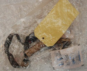 Afrikansk slangebøsse pakket ind i lufttæt Cryovac BDF® pose sammen med AGELESS