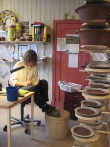 Dekoratør på Potteriet Røros