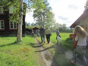 På vej på Bjørg Helenes sæter