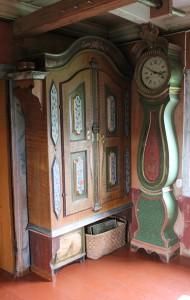 Dekorerede møbler fra Oddentunet