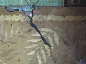 Detalje af Villadiums persiske gulvtæppe