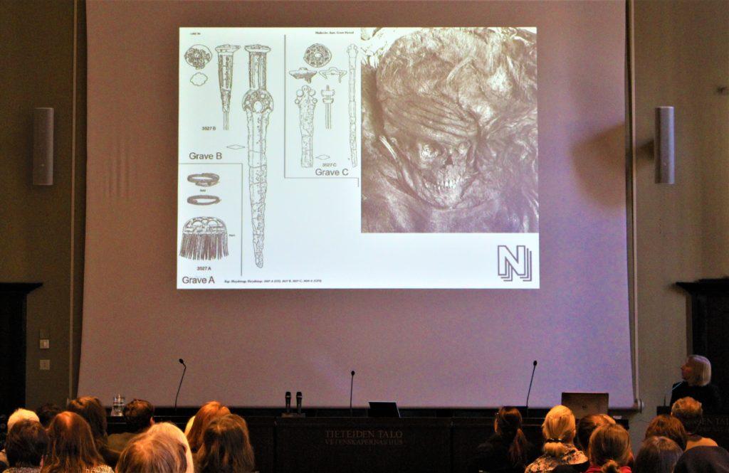 Keynote forelæsning af Nationalmuseets forskningsprofessor, Karin M. Frei